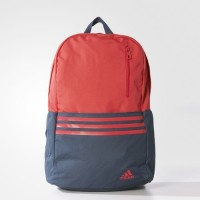 Sports backpack Adidas Versatile 3-Stripes Red