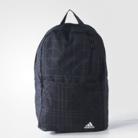 Sports backpack Adidas Versatile Graphic Blue
