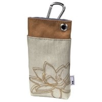 Case for mobile phone Aha Plant Beige