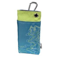 Case for mobile phone Aha Lines Blue