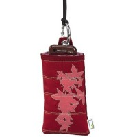 Case for mobile phone Aha Maple Red