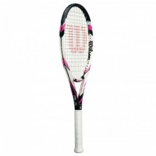 Tennis racket Wilson Six Two 16x19 Blk/Pnk