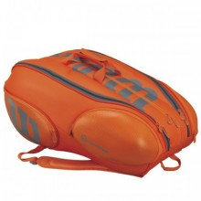Tennis bag Wilson Burn Orange 15P