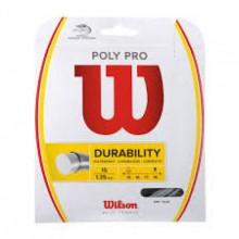 Wire tennis racket Wilson Poly Pro 15 12.2m 1.30mm
