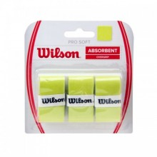 Grip the racket Wilson Pro Soft Overgrip Lime 0.55mm