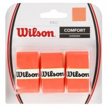 Grip the racket Wilson Pro Overgrip Burn 0.6mm