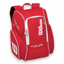 Tennis backpack Wilson Tour V Large Red