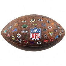 Football ball Wilson NFL 32 Logo Team Junior