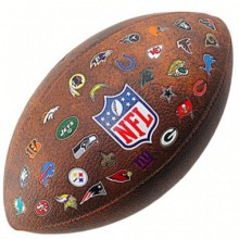 Football ball Wilson NFL 32 Logo Team