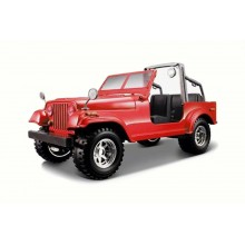 Model of Car Bburago Bijoux Jeep Wrangler BU 22000