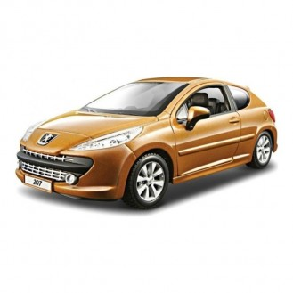 Model of Car Bburago Bijoux Peugeot 207 BU 22000