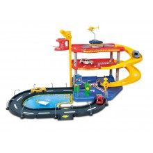 Playset 1:43 Bburago Street Fire Parking BU 30025