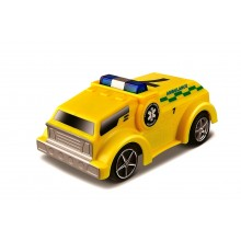 Model of Car Bburago Go Gears Race & Rescue Ambulance BU 30350
