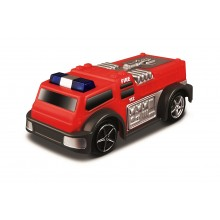 Model of Car Bburago Go Gears Race & Rescue Fire Truck BU 30350