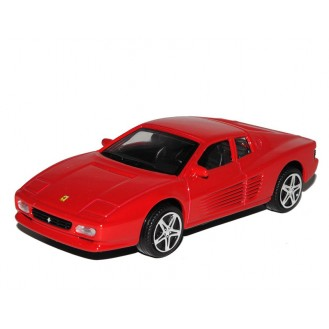 Model of Car Bburago Ferrari Race & Play Red 512 TR BU 36100