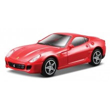Model of Car Bburago Ferrari Race & Play Red 599 GTB Fiorano BU 36100