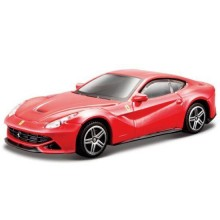 Model of Car Bburago Ferrari Race & Play Red F12 Berlinetta BU 36100