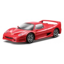 Model of Car Bburago Ferrari Race & Play Red F50 BU 36100