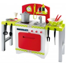 Playset Ecoiffier 100% Chef Extendable Kitchen SM 001739