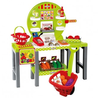 Playset Ecoiffier 100% Chef Small Fresh Merchant SM 001747
