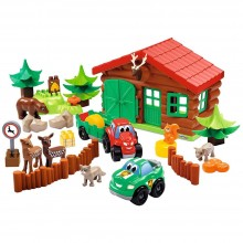 Playset Ecoiffier Abrick Forest House SM 003040