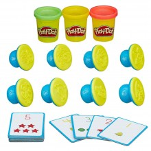 Modeling Compound Hasbro Play-Doh Shape and Learn Numbers and Counting B3406
