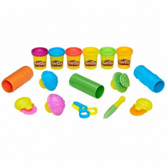 Modeling Compound Hasbro Play-Doh Shape and Learn Textures and Tools B3408