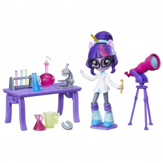 Playset Hasbro My Little Pony Equestria Girls Minis Twilight Sparkle Science Star Class B4910