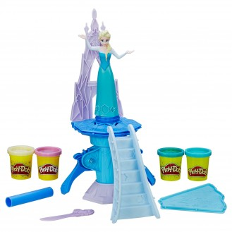 Modeling Compound Hasbro Play-Doh Frozen Enchanted Ice Palace Featuring Elsa B5530