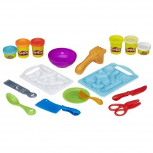 Modeling Compound Hasbro Play-Doh Kitchen Creations Shape 'n Slice B9012