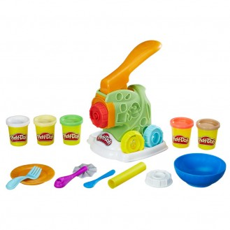 Modeling Compound Hasbro Play-Doh Kitchen Creations Noodle Makin' Mania B9013