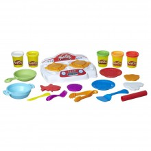 Modeling Compound Hasbro Play-Doh Kitchen Creations Sizzlin' Stovetop B9014