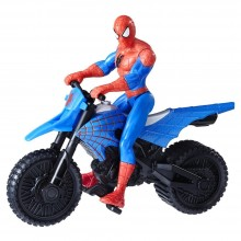 Playset Hasbro Marvel Spider-Man with Supercross Cycle B9706