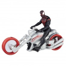 Playset Hasbro Marvel Spider-Man: Kid Arachnid with Web Chopper B9706