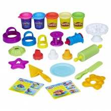 Modeling Compound Hasbro Play-Doh Kitchen Creations Frost 'n Fun Cakes B9741