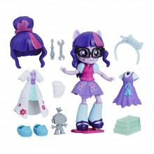 Playset Hasbro My Little Pony Equestria Girls Minis Switch 'n Mix Fashions Twilight Sparkle C1721