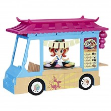 Playset Hasbro My Little Pony Equestria Girls Rollin' Sushi Truck C1840