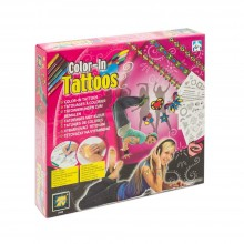 Creative Set Diamant Toys Colour-In Tattoos DM 2448