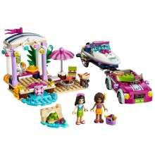 Building Bricks Lego Friends Andrea's Speedboat Transporter LE 41316