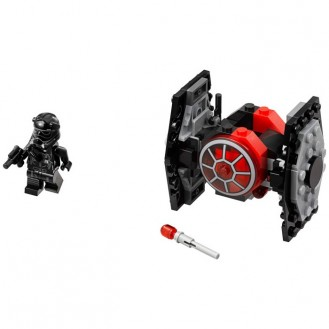 Building Bricks Lego Star Wars First Order TIE Fighter Microfighter LE 75194