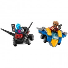 Building Bricks Lego Marvel Super Heroes Mighty Micros: Star-Lord vs. Nebula LE 76090