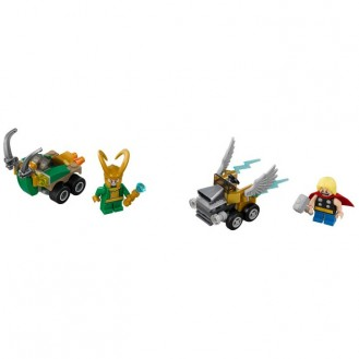 Building Bricks Lego Marvel Super Heroes Mighty Micros: Thor vs. Loki LE 76091