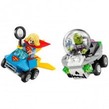 Building Bricks Lego Marvel Super Heroes Mighty Micros: Supergirl vs. Brainiac LE 76094