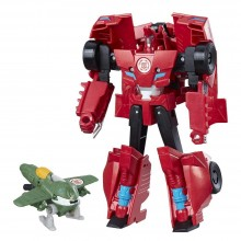 Action Figure Hasbro Transformers RID Combiner Force Activator Combiners Sideswipe and Great Byte C0653