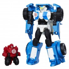Action Figure Hasbro Transformers RID Combiner Force Activator Combiners Strongarm and Trickout C0653