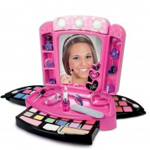 Makeup Set for Girls Clementoni Crazy Chic Mirror CL 15981