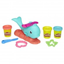 Modeling Compound Hasbro Play-Doh Wavy the Whalek E0100