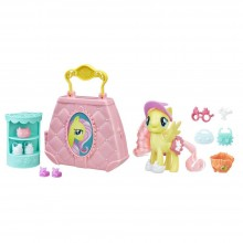 Playset Hasbro My Little Pony: The Movie Fluttershy Purse Pet Care E0187