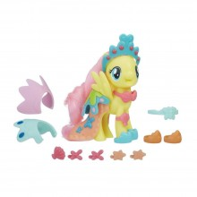 Figure Hasbro My Little Pony: The Movie Fluttershy Land & Sea Snap-On Fashion E0189