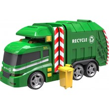 Vehicle Halsall Teamsterz Light and Sound Rubbish Recycling Truck HL 1416391